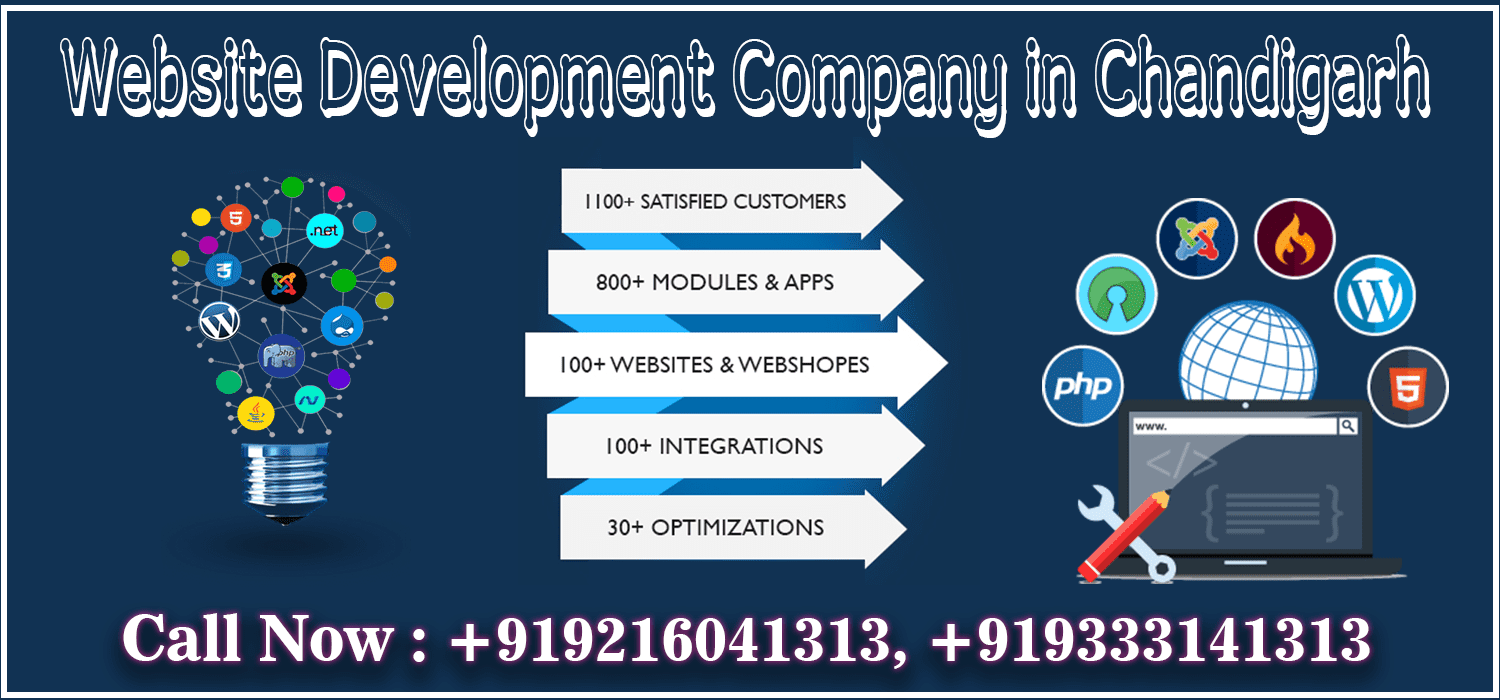 Website Development Company in Chandigarh