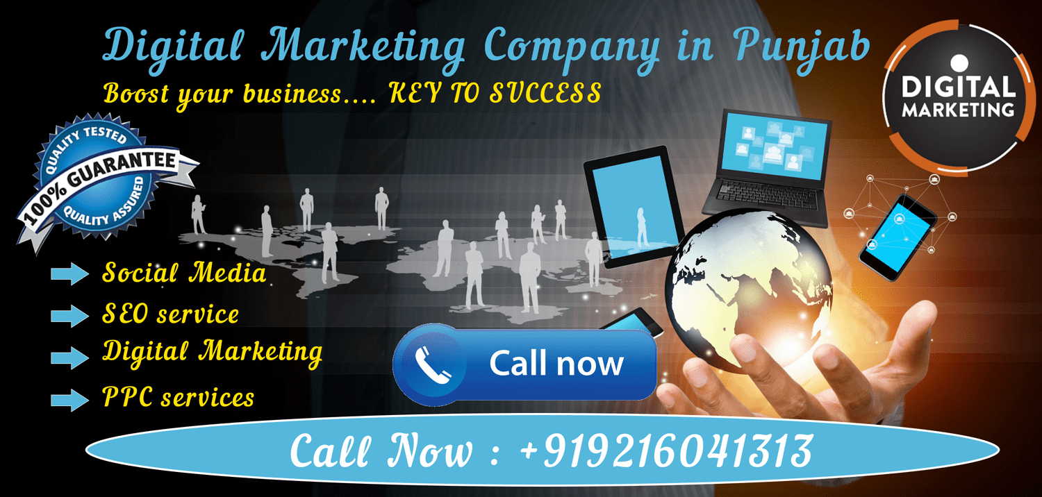 Digital Marketing Company in Punjab