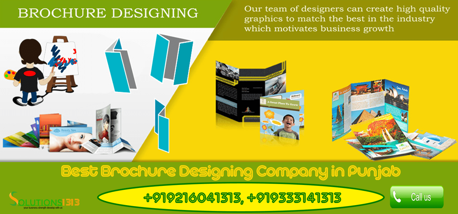 Brochure Designing Company in Punjab