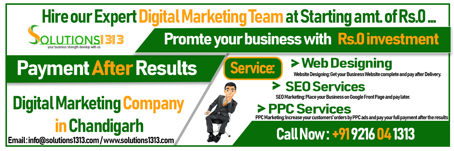 Top 10 Digital Marketing Companies in Chandigarh