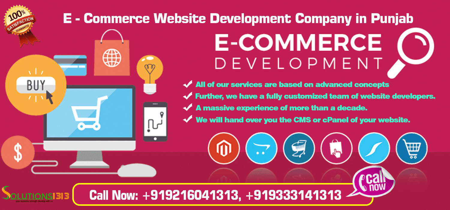 E-Commerce Website Development Company in Punjab