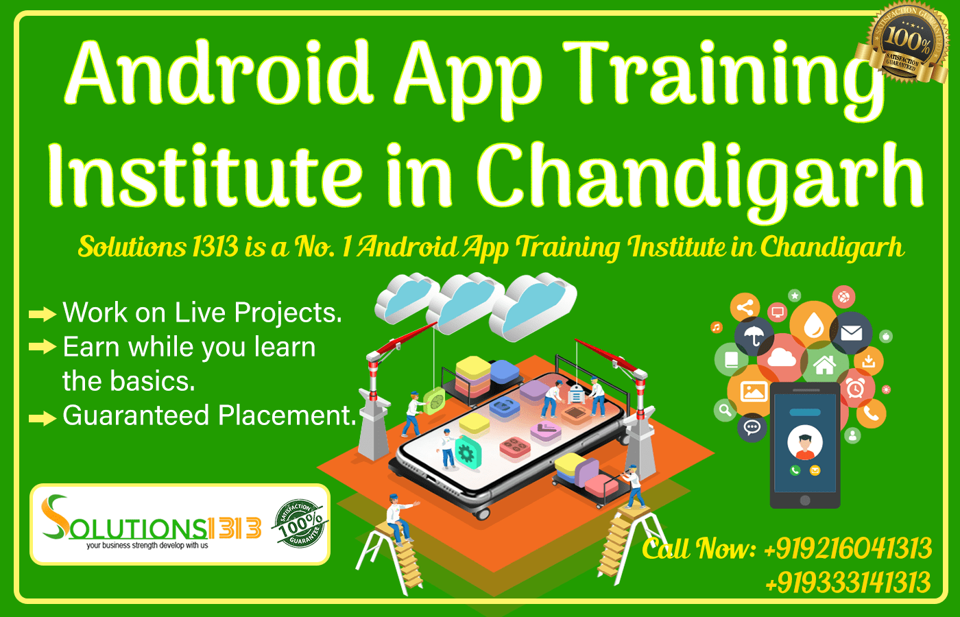 Android App Training Institute in Chandigarh