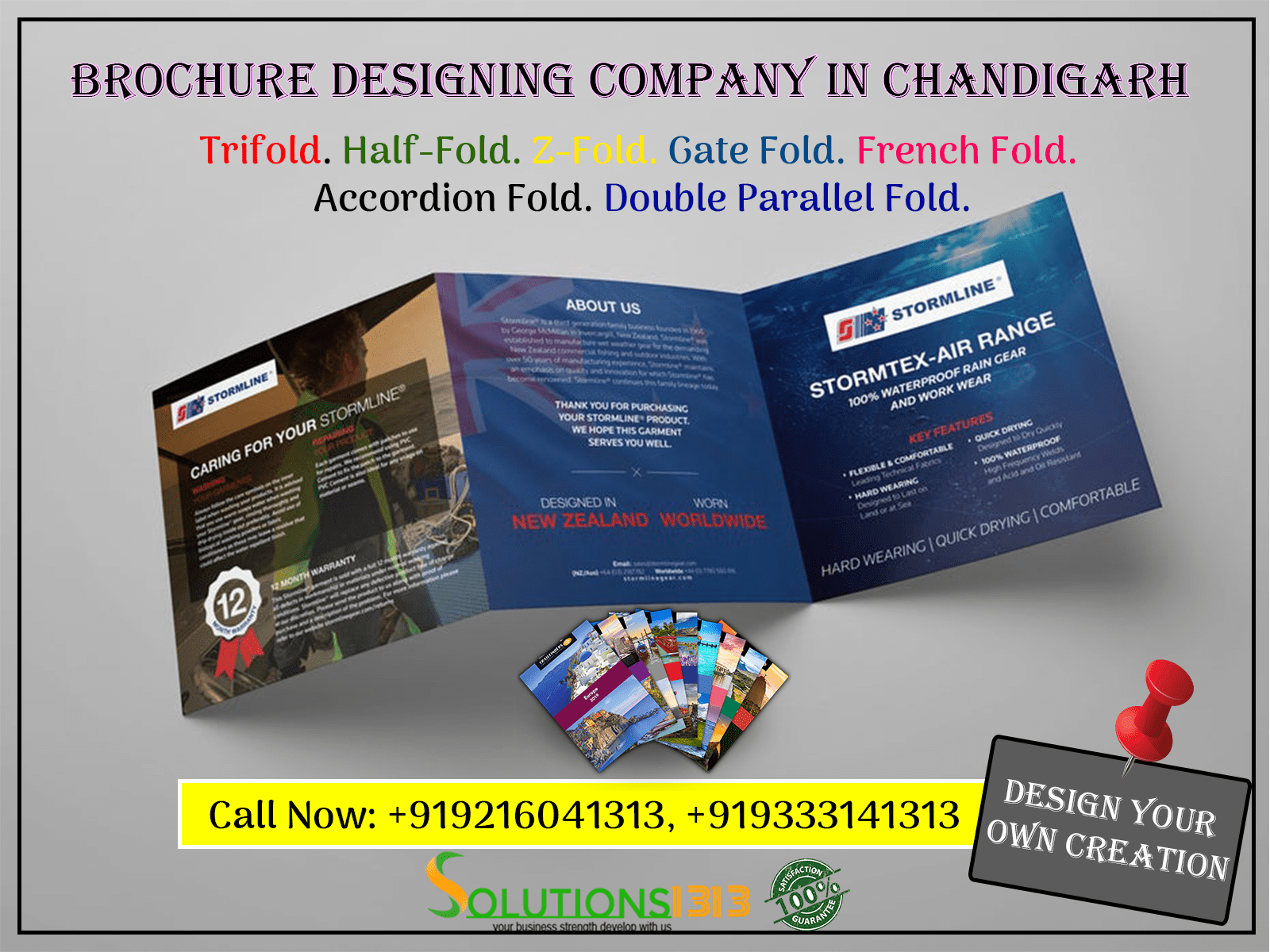 Brochure Designing Company in Chandigarh