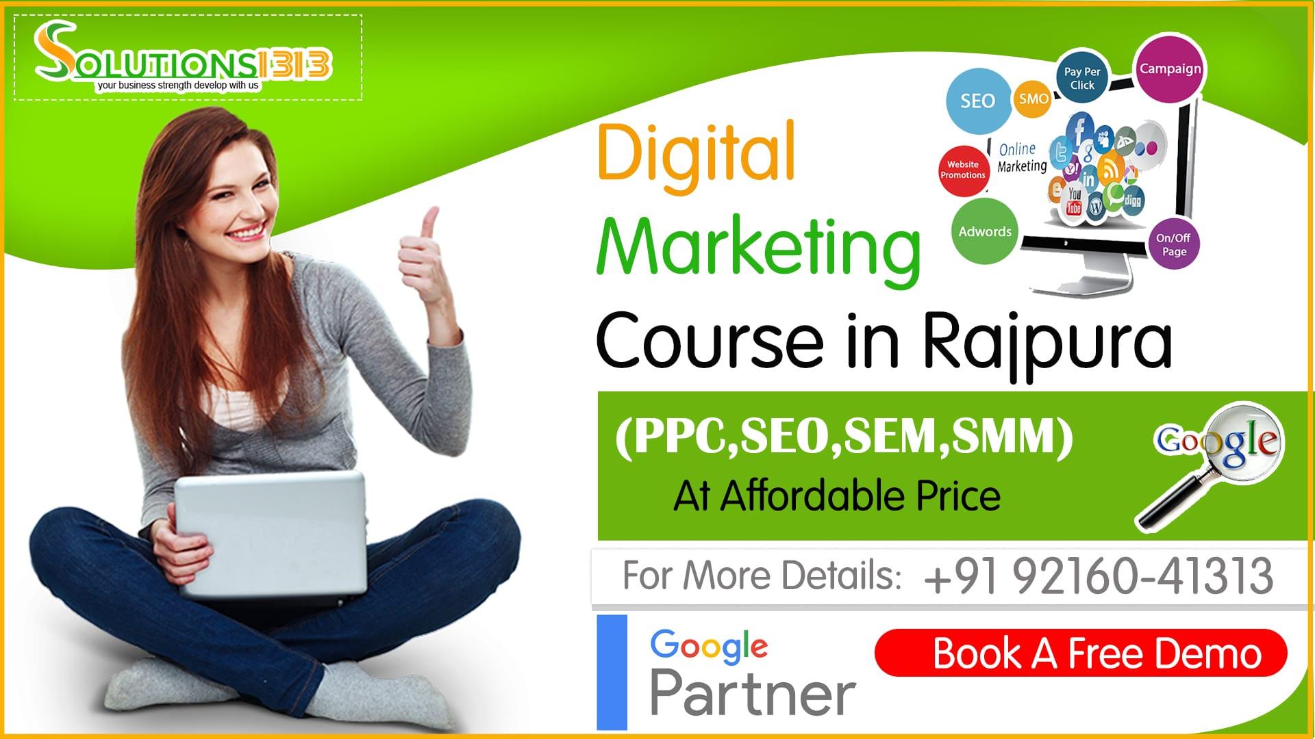 Digital Marketing Course in Rajpura