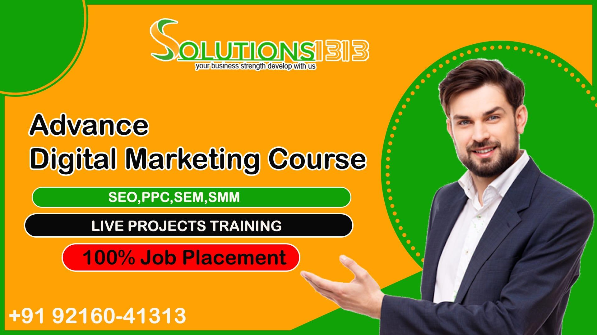 Digital Marketing Course in Zirakpur