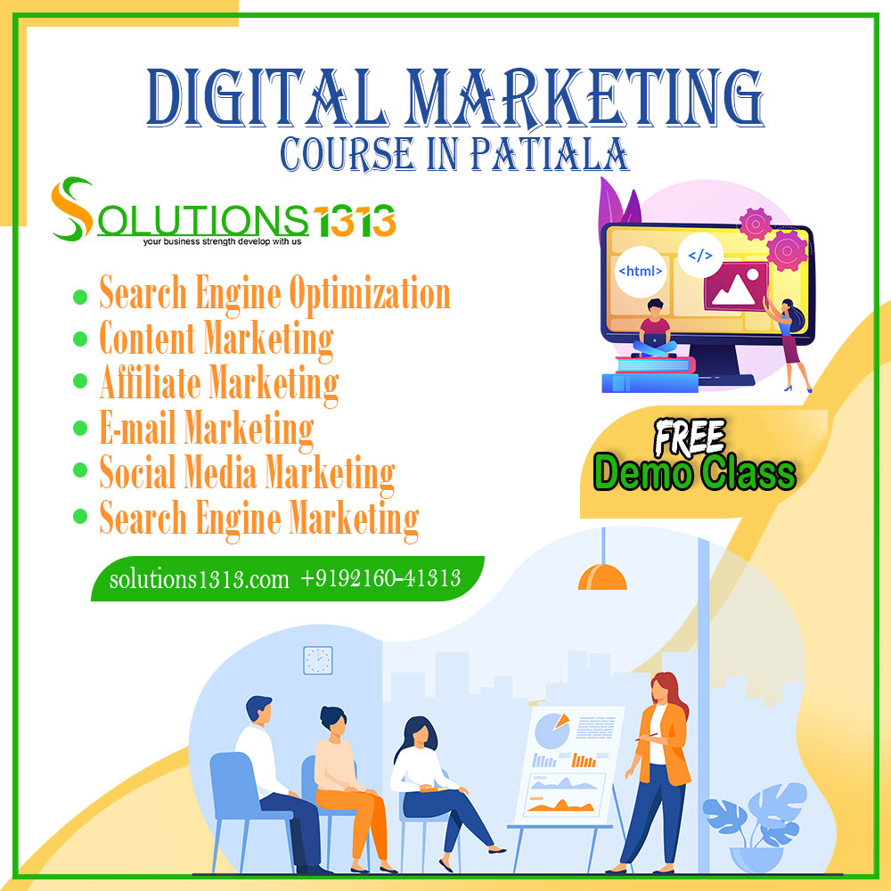 Digital Marketing Course in Leela Bhawan Patiala